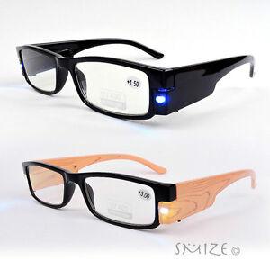 led lighted reading glasses s readers 100 400
