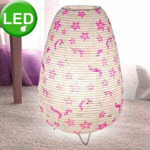 Détails sur Led Licorne Papier Lumière Nuit Filles Enfants Lampe de Chambre  Rose Blanc