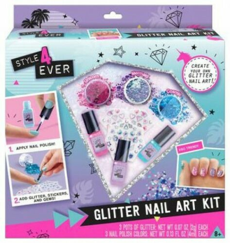 Style 4 Ever Glitter Nail Art Kit