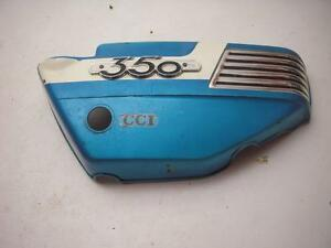 1972-350-Used-Suzuki-OEM-Right-Side-Cover-SC-196