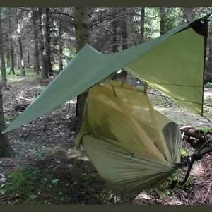 image is loading crusader nomad hammock mosquito   basha tarp sleep  crusader nomad hammock   mosquito     basha  tarp sleep system      rh   ebay