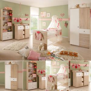 Babyzimmer Wiki 4 Teilig Kinderzimmer In Sonoma Eiche Sagerau Und