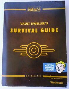 Fallout-4-Vault-Dweller-039-S-GUIDE-di-sopravvivenza-prima-Ufficiale-Gioco-Guida