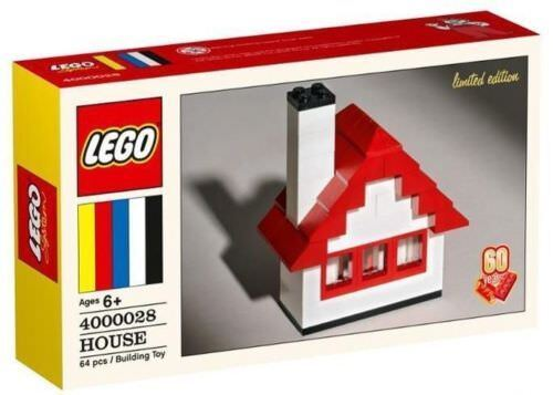 New LEGO 4000028 House Classic Set 60th Anniversary LIMITED EDITION