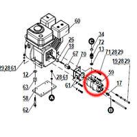Harbor Freight Log Splitter Replacement Hydraulic Pump Part 59