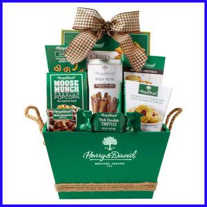 Harry & David Green Gourmet Gift Basket