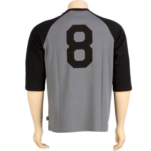 black $47.99 Undefeated Baseball 3//4 Raglan Tee 5014105BLK
