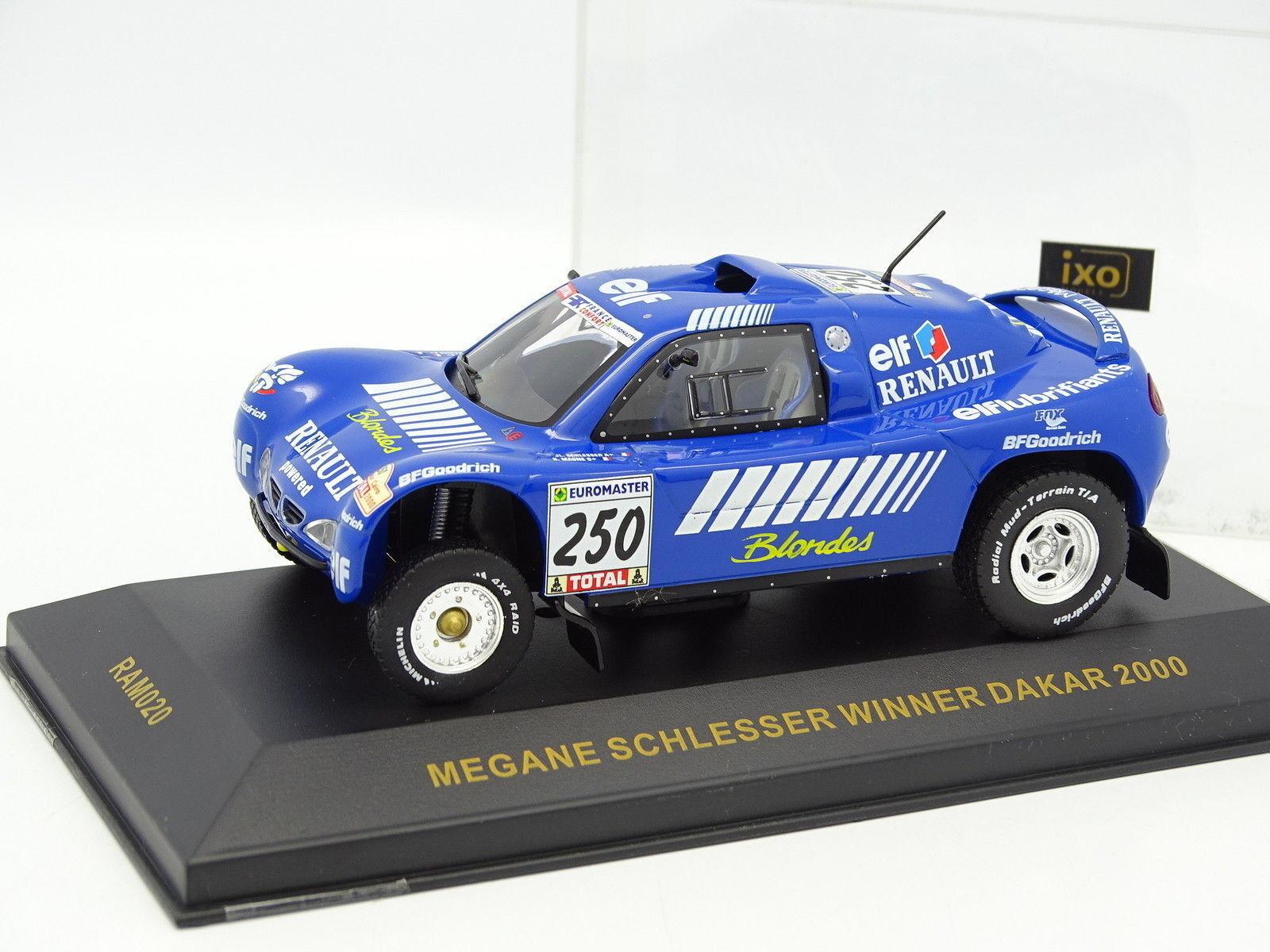 Ixo 1 43 - Renault Megane Schlesser Winner Dakar 2000 No.250