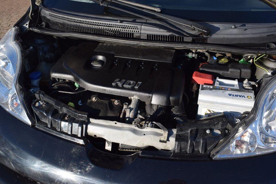 Peugeot 107 1,4 HDi Diesel modelår 2006 km 111000 Sortmetal