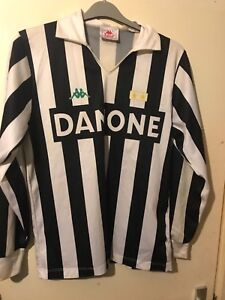 quality design fea97 4be3a Details about Juventus long sleeved football shirt KAPPA , DANONE