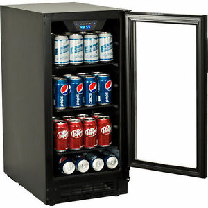 image is loading - Glass Front Mini Fridge