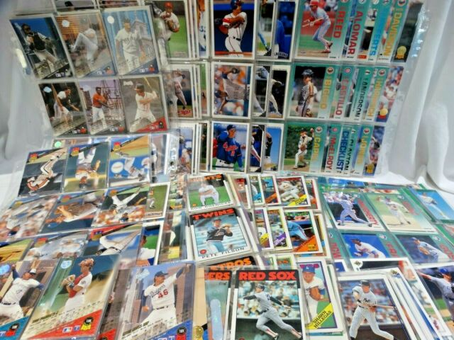 Mixed Lot of Collectible Sports Cards - Baseball Trading Cards 800+  (K2)