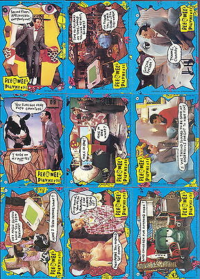 PEE WEE/'S PLAYHOUSE 1988 TOPPS U PICK SINGLE ACTIVITY INSERT CHASE CARDS