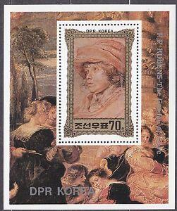 KOREA-Pn-1981-MNH-SC-2115-s-s-Reubens-Paintings