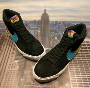89b8069ea41b Nike SB Zoom Blazer Mid QS x Lance Mountain Black Mens Size 5 AH6158 ...