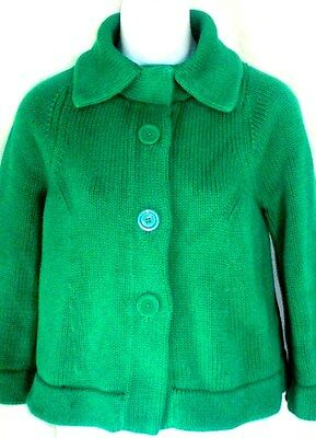 Banana Republic Women's Green Cardigan Sweater Jacket Size S