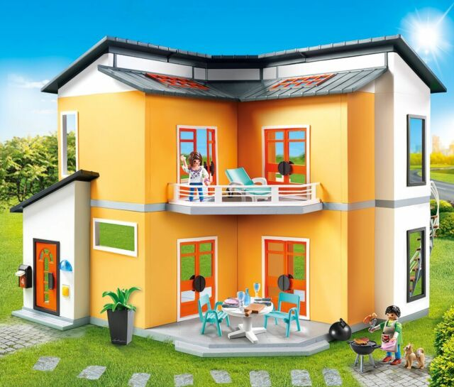 PLAYMOBIL® 9266 Modern House - NEW 2017 - S&H FREE WORLDWIDE