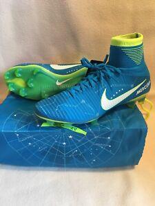 Crítico Casi muerto Parámetros  Nike Mercurial Superfly V NJR FG Neymar Azul Botines De Fútbol 921499-400  Talla 10   eBay