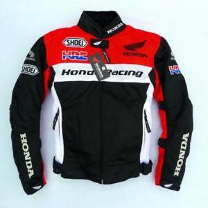 Honda Hrc Jacket Motorcycle Warm Jacket Riding Cycling Windproof