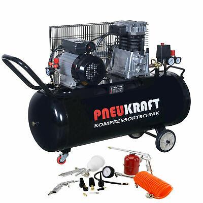 luftkompressor druckluft kompressor 100l kessel 2200w 2zylinder 10bar 13ltg ebay. Black Bedroom Furniture Sets. Home Design Ideas