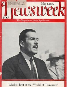 Newsweek-Magazine-May-1-1939
