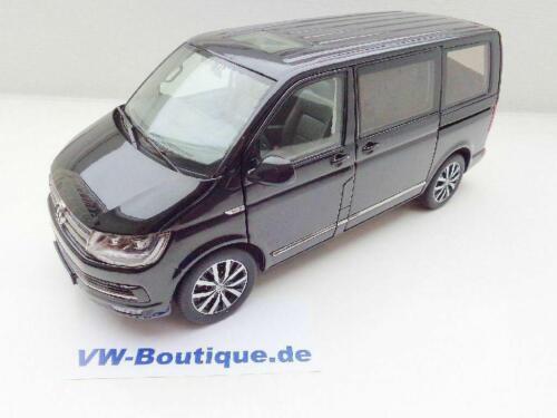 Volkswagen VW t6 furgoneta descubrimos Multivan highline negro en 1:18 de 954//50 NZG