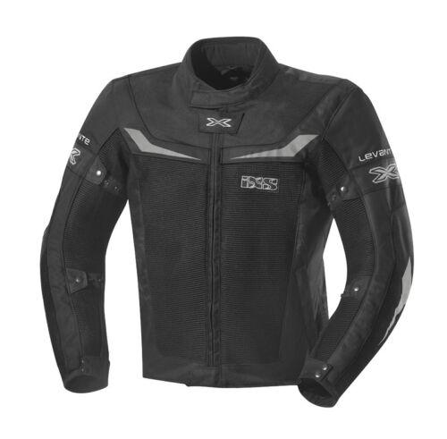 IXS Levante noir légère et aérée Messieurs moto été textile veste