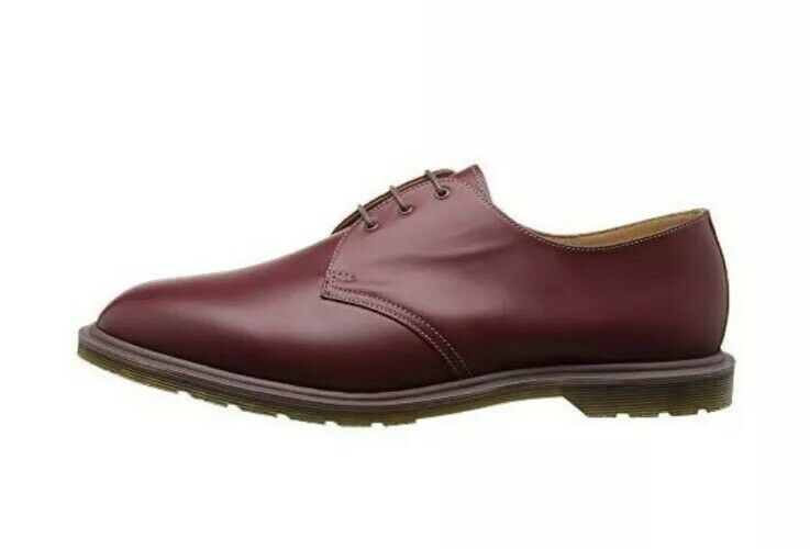 Dr Martens Steed Leather Oxford sautope donna's US 7 Oxblood fatto IN ENGLe  200