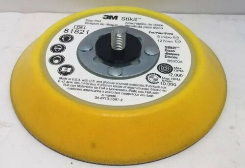 B5300A 3M Stikit #81821 Disc Pad 5in x 3//4in x 5//16-24 EXT
