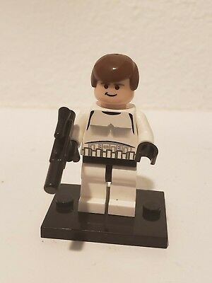 LEGO STAR WARS Minifigure HAN SOLO STORMTROOPER DISGUISE From Set 10188