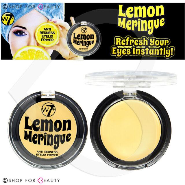 W7 Lemon Meringue Anti Redness Eyelid Primer 2g Eye Shadow Base