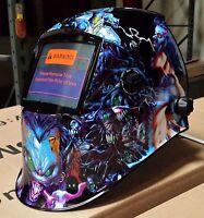 Dmn Auto Darkening Welding Helmet Cap Certified Mask Cheater-lens-ready