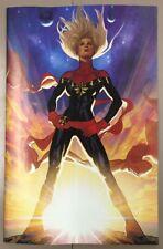 Captain Marvel #1 (2019) NM+ Adam Hughes 1:100 Virgin Carol Danvers Variant