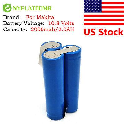 2000mAh für FLEX 10.8V  Li-Ion Akku RT-CD 10.8Li 4511301 1101 Batterie
