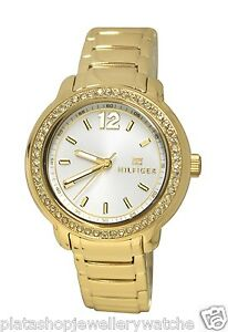 Tommy-Hilfiger-Laidies-Callie-1781467-yellow-Stainless-Steel-New-Original
