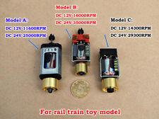 Mini 5 Pole Dc 12v 24v Micro Motor Diy Slot Ho Car Road Rail Model Train Engine