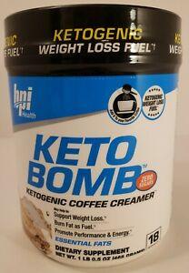 BPI Sports KETO BOMB Ketogenic Weight Loss 1lb Caramel Macchiato New 09/2021