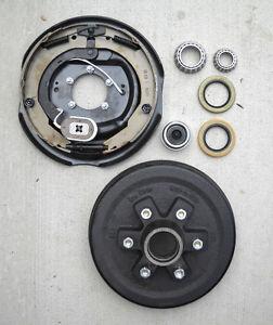 "10/""x 2.2/"" Trailer Axle brake hub drum 3500# Axel 6 x 5.5/"" Fits ALKO Dexter kit"
