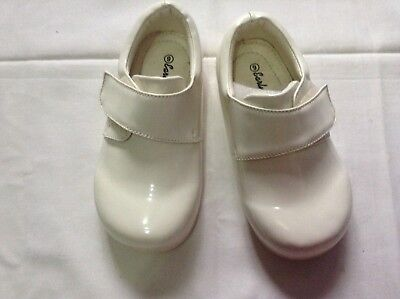 SPECIAL OCCASION //CHRISTENING SHOES  Black infant SIZE 2 SEVVA BABY BOY