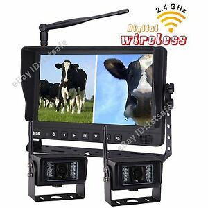 Backup Camera System >> Details About 9 Wireless Agriculture Backup Camera System 2 Rv Cameras