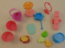Littlest Pet Shop LPS Lot Outdoor Play Accessories Bucket Table See Saw