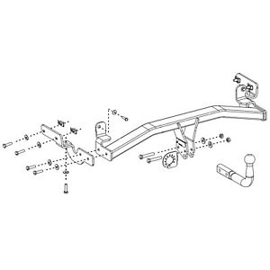 bosal towbar for vauxhall crossland x suv 2017 onwards fixed swan Engine Wiring Diagram image is loading bosal towbar for vauxhall crossland x suv 2017
