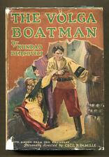 THE VOLGA BOATMAN by Konrad Bercovici (1926) G&D Photoplay Edition in DJ