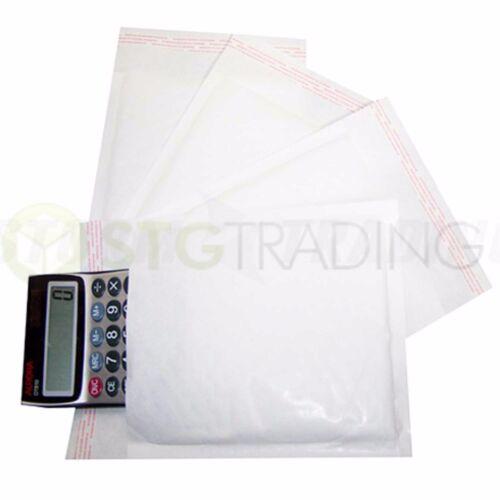 White Padded Bubble Envelopes 140x195mm STG 3-100 Envelopes