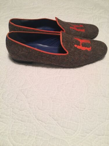 Hadleigh's Audrey Smoking Loafer, Women's 42, Wome