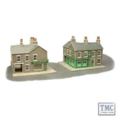 PN117 Metcalfe N Gauge Corner Shop - Stone Card Kit