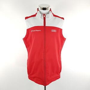 Softshell L grau Herren Fleece Teamweste Sport Audi Weste Rot Adidas Motorsport ESXqwZ7xC
