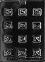 Assorted Filled Fruits Chocolate Mold - F012