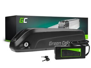 E-Bike Akku 36V 13Ah Li-Ion Elektrofahrrad Down Tube Batterie mit Ladegerät