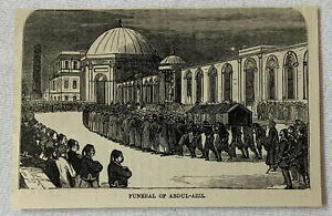 1885-Revista-Grabado-Funeral-de-Abdul-Aziz-Turquia